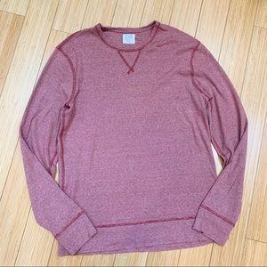 J. CREW Twisted Rib long sleeved T-shirt, men's XL